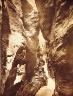 William Henry Jackson / Waterfall Gorge / ca. 1890
