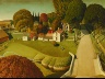 Grant Wood / The Birthplace of Herbert Hoover, West Branch, Iowa / 1931