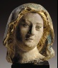 Artist unknown / Head of the Virgin / 15th Century