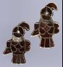 Frankish / Pair of Bird-Shaped Brooches / 550?600