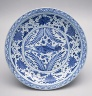 China / Plate / Yuan dynasty (1279?1368), mid-14th century