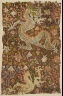 Eastern Central Asia / Tapestry with Dragons and Flowers / 11th?12th century