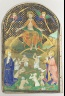 French; Paris / The Last Judgment, from a Book of Hours / ca. 1400