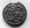Caucasus region / Disk with running dogs surrounding a mountain goat / 1st?3rd century A.D.
