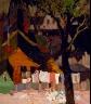 Vaclav Vytlacil / Village Scene / 1918