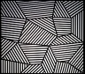 Sol Lewitt / Wall Drawing #565: On three walls, continuous forms with alternating... / 1988