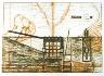 Jet Construction / Prairie Ladder: Lean-to / Dugout / 1994