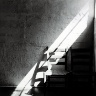 Robert Rauschenberg / Quiet House, Black Mountain / ca. 1949