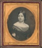 Robert H. Vance / Untitled (Young Woman in Off-the-Shoulder Gown) / ca. 1850