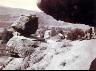 William Henry Jackson / Pulpit Rock, Echo Canyon, Utah / ca. 1869