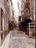 Charles Marville / Rue des Bourdonnais / ca. 1860