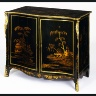 English / CABINET fitted with drawers (known as a commode) / 1760-1765