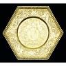Simon Gribelin / ENGRAVED TRAY / Hallmarked for 1698 - 1699