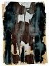 Claes Oldenburg / Silver Torso with Brown Underwear / 1961