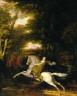 Washington Allston / The Flight of Florimell / 1819