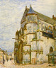 Alfred Sisley / Church at Moret after the Rain / 1894