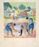 Bror Julius Olsson Nordfeldt / Clam Diggers / ca. 1916