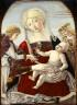 Benvenuto di Giovanni di Meo del Guasta / Virgin and Child with angels / 15th/16th century