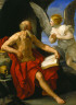 Guido Reni / Angel Appearing to Saint Jerome / c. 1640