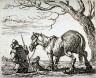 Pieter van Laar / Le payan conduisant un cheval / 16th - 17th century