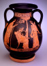 Niobid Group, Spreckels Painter / Red-Figure Pelike / circa 450 BC