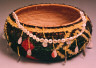 Unknown / Feather basket / Late 19th century