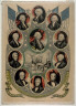 Nathaniel Currier / The Presidents of the United States / 1844