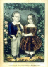 Currier and Ives / Little Brother and Sister / 1863
