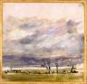 Peter Paul Pugin / Landscape with Storm Clouds / circa 1871