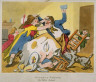 Thomas Rowlandson / Miseries  of Wedlock:The Tables Turned / 18th - 19th century