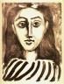 Pablo Picasso / Tête de jeune fille (Head of a young girl) / 1949