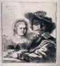 Rembrandt Harmensz van Rijn / Self-Portrait with Saskia / 1636