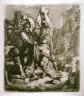 Rembrandt Harmensz van Rijn / Stoning of St. Stephen / 1635
