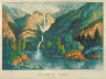 Currier and Ives / Yo-Semite Falls. California / 19th Century