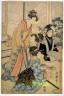 Kitagawa Utamaro / Konreino-zu (Drawing of the Wedding Ceremony) / circa 1805 - 1806