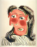 Pablo Picasso / Tête de femme II  (Head of a woman, II) (Dora Maar) / 1939