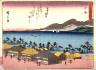 Hiroshige / Oiso, no. 9 from a series of Fifty-three Stations of the Tokaido (Tokaido gojusantsugi) / circa 1838 - 1840