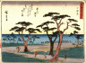Hiroshige / Odawara, no. 10 from a series of Fifty-three Stations of the Tokaido (Tokaido gojusantsugi) / circa 1838 - 1840