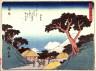 Hiroshige / Kambara, no. 16 from a series of Fifty-three Stations of the Tokaido (Tokaido gojusantsugi) / circa 1838 - 1840