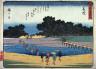 Hiroshige / Fujieda, no. 23 from a series of Fifty-three Stations of the Tokaido (Tokaido gojusantsugi) / circa 1838 - 1840