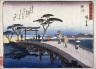 Hiroshige / Kakegawa, no. 27 from a series of Fifty-three Stations of the Tokaido (Tokaido gojusantsugi) / circa 1838 - 1840