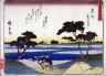 Hiroshige / Mitsuke, no. 29 from a series of Fifty-three Stations of the Tokaido (Tokaido gojusantsugi) / circa 1838 - 1840