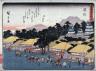 Hiroshige / Hamamatsu, no. 30 from a series of Fifty-three Stations of the Tokaido (Tokaido gojusantsugi) / circa 1838 - 1840