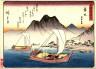 Hiroshige / Maisaka, no. 31 from a series of Fifty-three Stations of the Tokaido (Tokaido gojusantsugi) / circa 1838 - 1840
