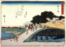 Hiroshige / Yokkaichi,no. 44 from a series of Fifty-three Stations of the Tokaido (Tokaido gojusantsugi) / circa 1838 - 1840