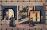 Hiroshige / Act 2 (Nidamme)  from the play Storehouse of Loyalty (Chushingura) / circa 1835 - 1836