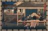 Hiroshige / Act 4 (Yondamme)  from the play Storehouse of Loyalty (Chushingura) / circa 1835 - 1836