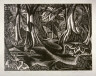 John Buckland Wright / The Forest Pool / 19th - 20th century