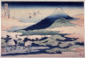Hokusai / Fuji with Umezawa Marsh on the Left in Sagami Province (Soshu umezawa hidari),   from the series Thirty-six Views of Mt. Fuji (Fugaku sanjurokkei) / circa 1831 - 1834