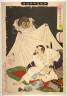 Yoshitoshi / Minamoto raiko tsuchigumo o kiru zu / 1892